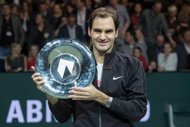 Roger Federer est assuré d'être à nouveau no 1 lundi. [Patrick Post - Keystone]