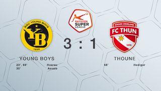22e journée, Young Boys - FC Thoune (3-1) [RTS]
