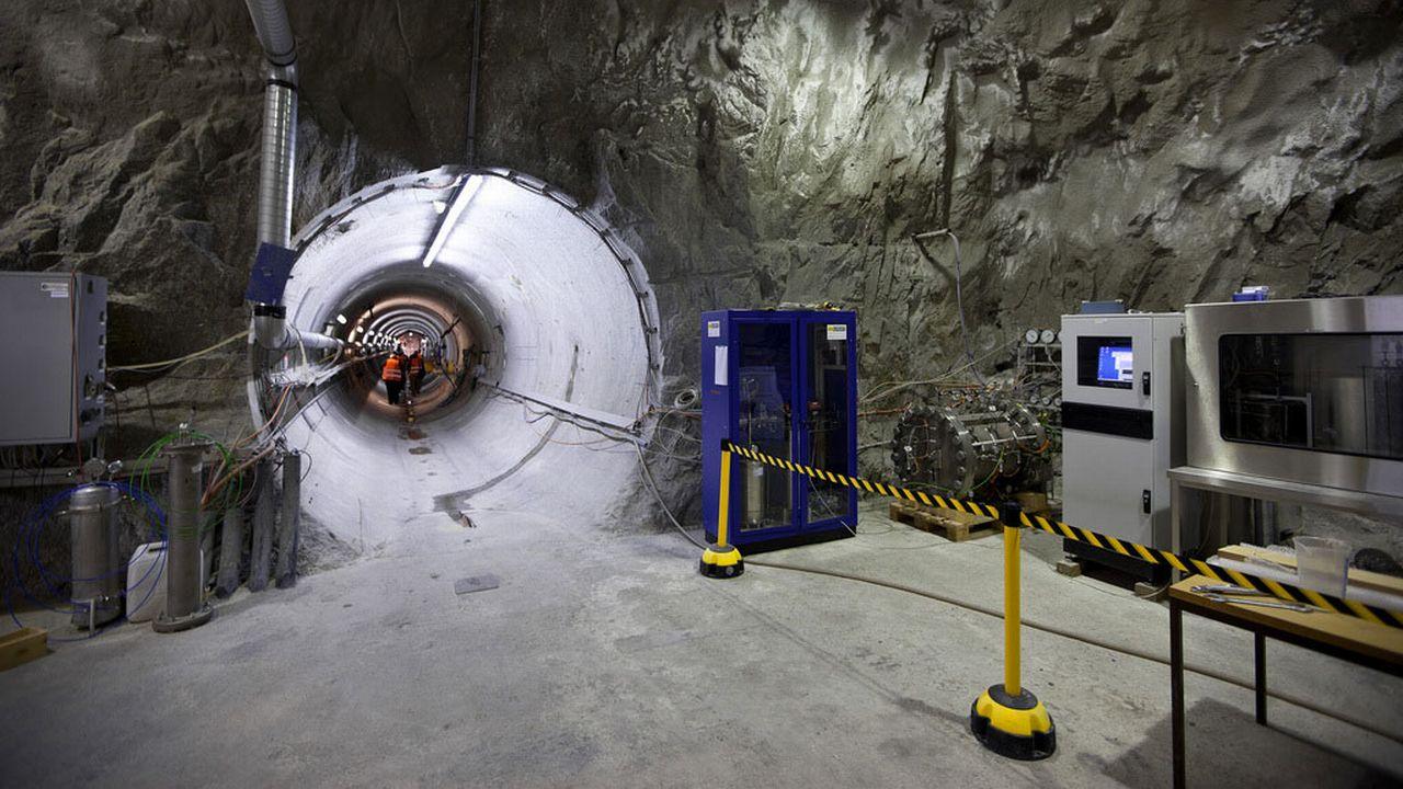La Nagra est chargée de trouver des solutions de stockage des déchets nucléaires en Suisse. [Gaëtan Bally - Keystone]