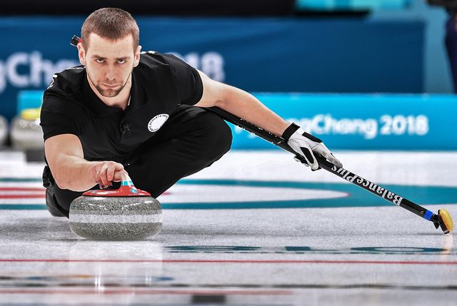 Le Russe avait obtenu la médaille de bronze en curling mixte. [Vladimir Pesnya - AFP]