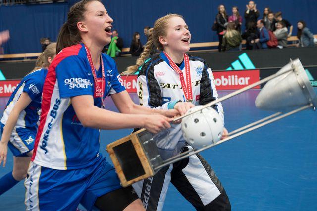 Unihockey, coupe de Suisse, finale dames, en direct de Berne [Marcel Bieri - Keystone]