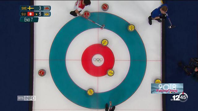 JO 2018 - curling hommes: le CC Genève s'est imposé face la Suède [RTS]