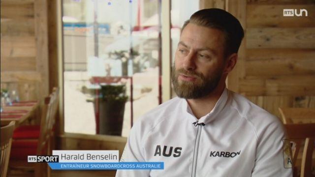 Harald Benselin rencontre le succès avec l'équipe d'Australie. [RTS - RTS]