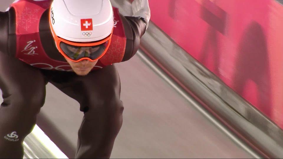 Saut à ski: Tim Hug (SUI) [RTS]