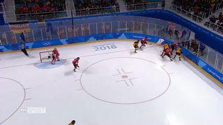 Hommes, SUI-GER 0-1: l.Allemagne ouvre la marque après un peu plus d.une minute de jeu [RTS]
