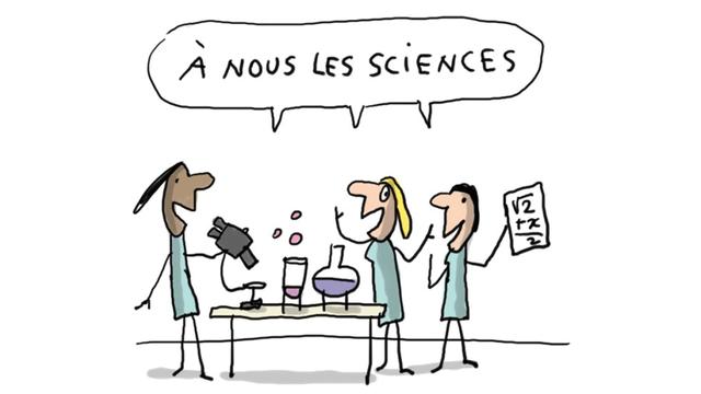 Pourquoi y a t il moins de filles qui font des études de sciences? [France TV Education]