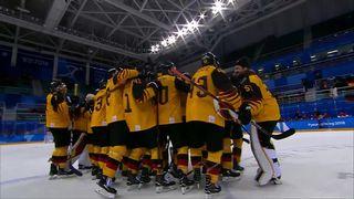 Hommes, SUI-GER 1-2: élimination de l'équipe de Suisse. L'Allemagne s'impose en prolongation et défiera la Suède en ¼ [RTS]