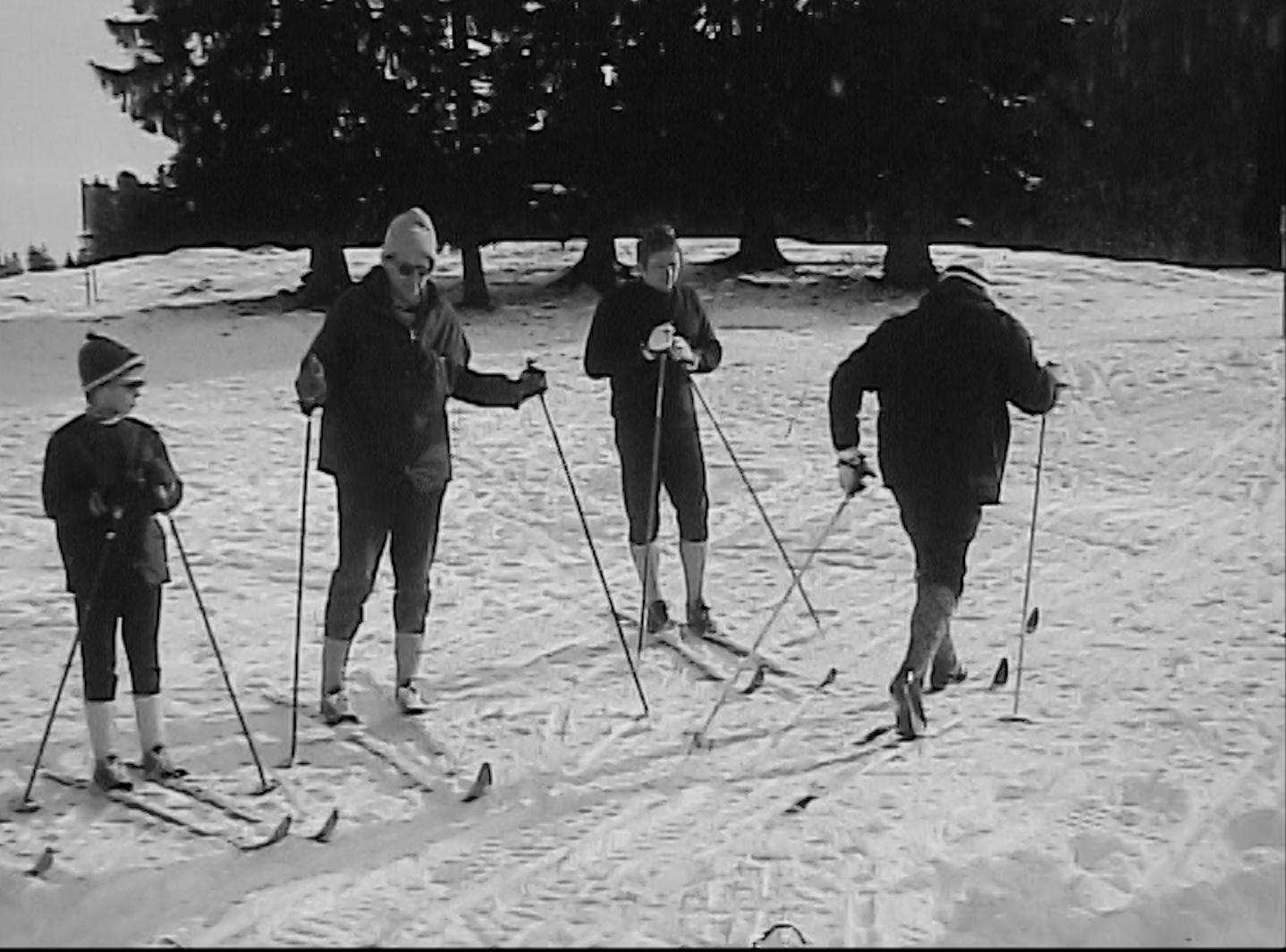 Petite leçon de ski nordique