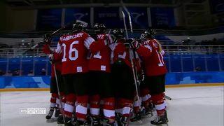 JO - Hockey: victoire contre le Japon pour l'équipe de Suisse féminine [RTS]
