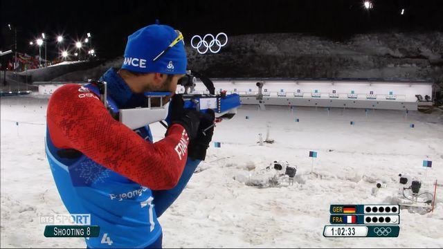 JO - Biathlon: Martin Fourcade enchaîne les médailles d'or [RTS]