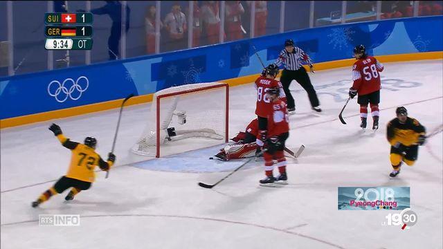 JO PyeongChang - Hockey: la Suisse est éliminée [RTS]