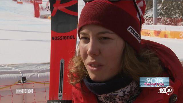 JO PyeongChang - Ski: les soeurs Gisin complices [RTS]