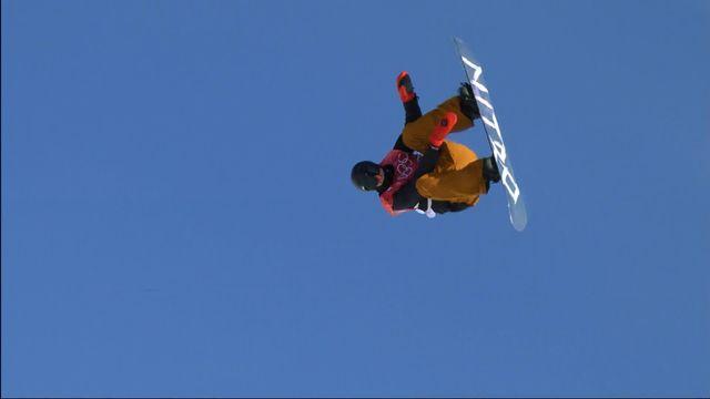 Big air, qualifications hommes: le Suisse Michael Schaerer [RTS]