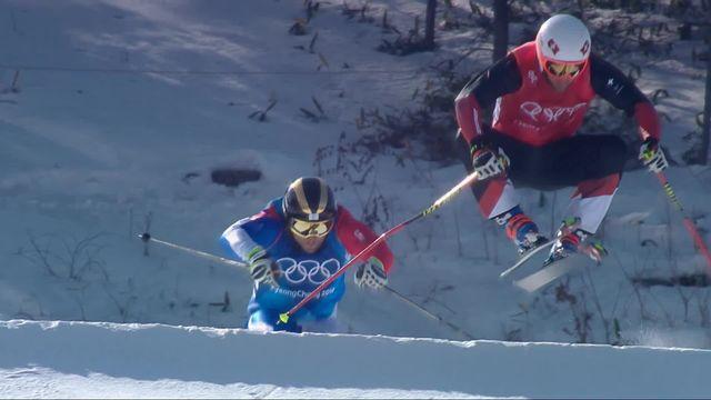 Skicross, petite finale hommes: 5e place pour le Suisse Niederer [RTS]
