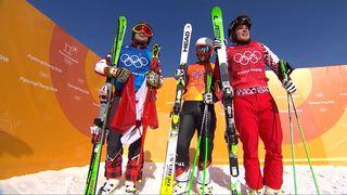Skicross, finale hommes: or pour Leman (CAN), argent pour Bischofberger (SUI) et bronze pour Ridzik (OAR) [RTS]