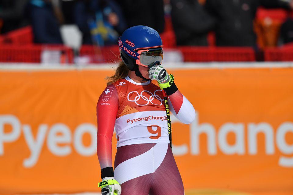 Les JO de PyeongChang auront été difficiles pour Lara Gut. [Frank Hoermann/Sven Simon - AFP]
