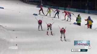 JO 2018 - Ski de fond sprint: déception pour les hommes [RTS]