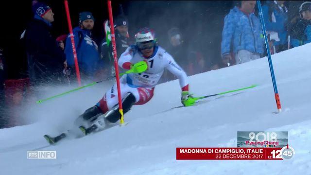 JO 2018 - Slalom messieurs: les Suisses semblent avoir leurs chances de médailles [RTS]