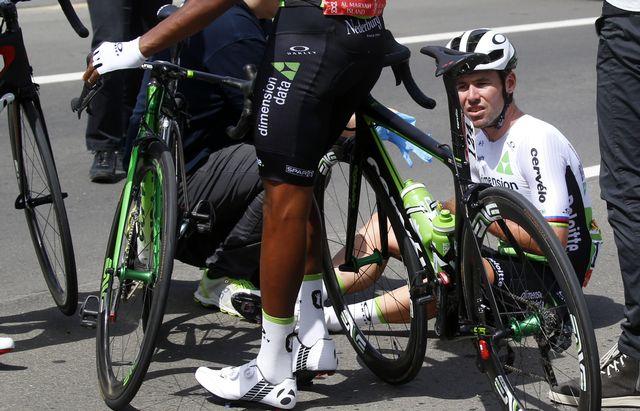 Cavendish était l'une des têtes d'affiches du Tour d'Abu Dhabi. [Giuseppe Cacace - AFP]