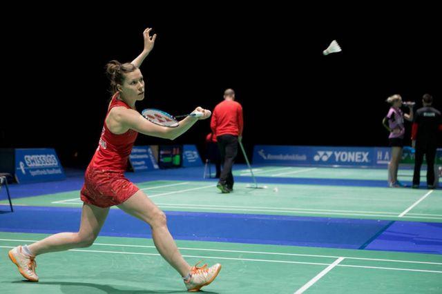 Jaquet est la dernière Suissesse en lice dans ce tournoi international. [Uwe Zinke - SRI]