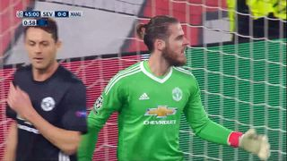 1-8e de finale, Séville - Manchester United (0-0): grosse occasion pour Muriel en 1re mi-temps [RTS]