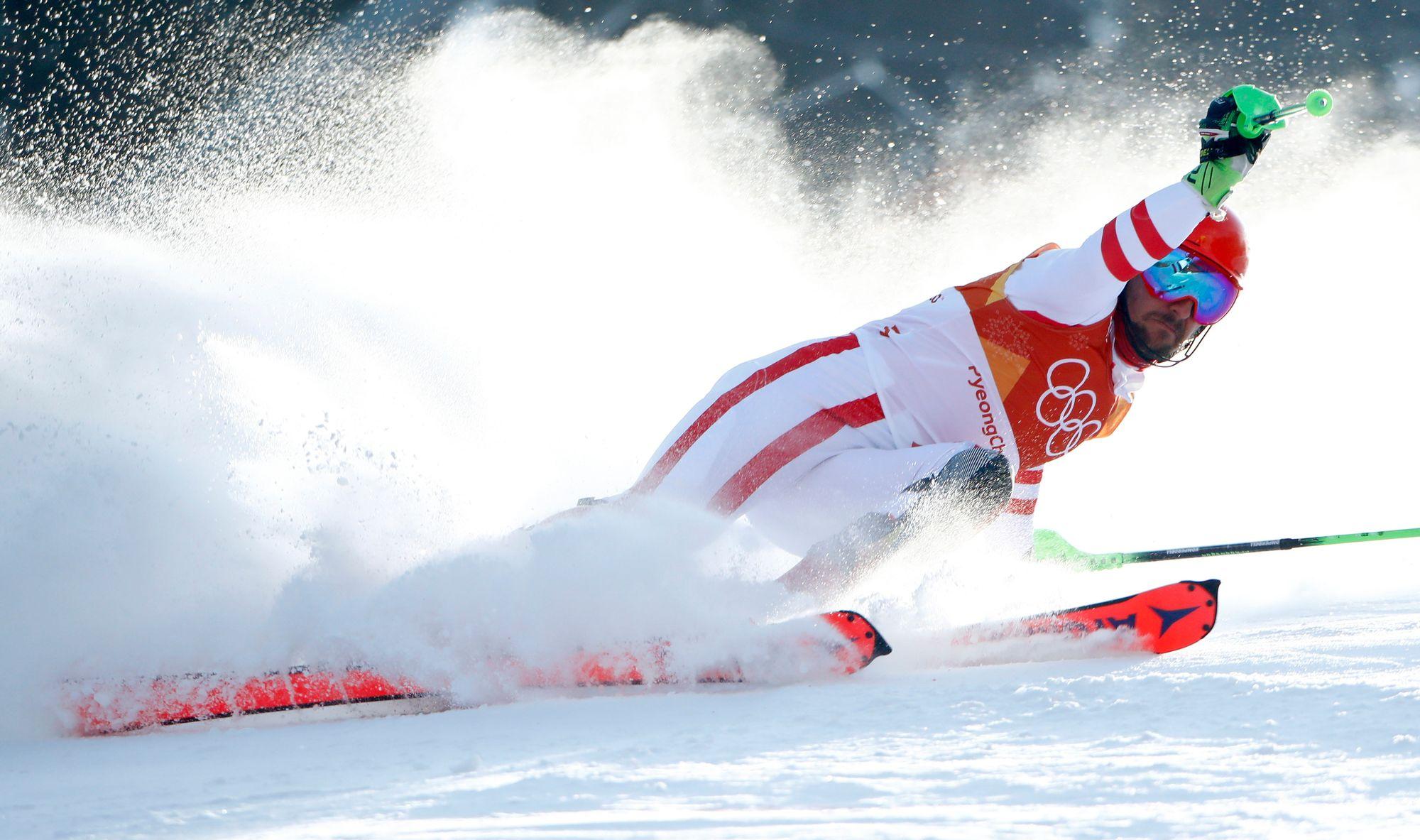 JO 2018: trois Français dans le coup pour le podium en slalom