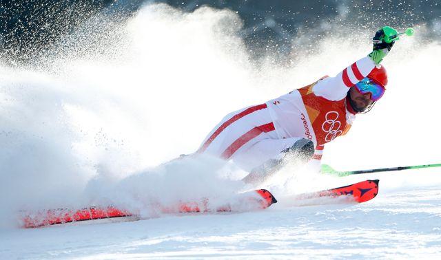Coup de théâtre à PyeongChang: Marcel Hirscher est éliminé du slalom! [Dominic Ebenbichler - Reuters]