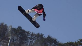 Big Air, finale dames : Sina Candrian (SUI) [RTS]