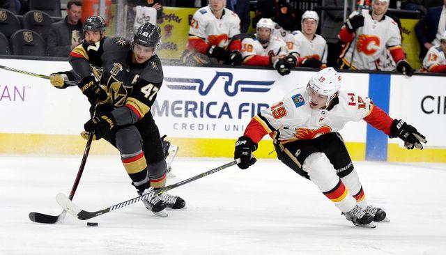 Luca Sbisa évolue en NHL depuis 2008. [Isaac Brekken - Keystone]