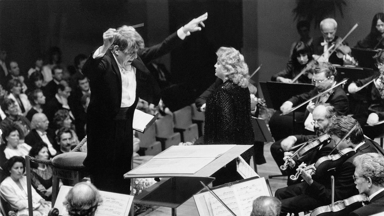 Armin Jordan en 1988 à Lucerne. [Keystone]