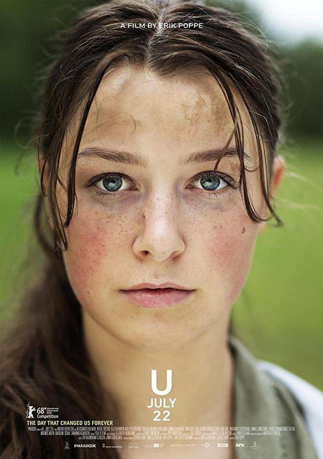 """L'affiche du film du réalisateur norvégien Erik Poppe """"Utøya 22 juillet"""". [DR]"""