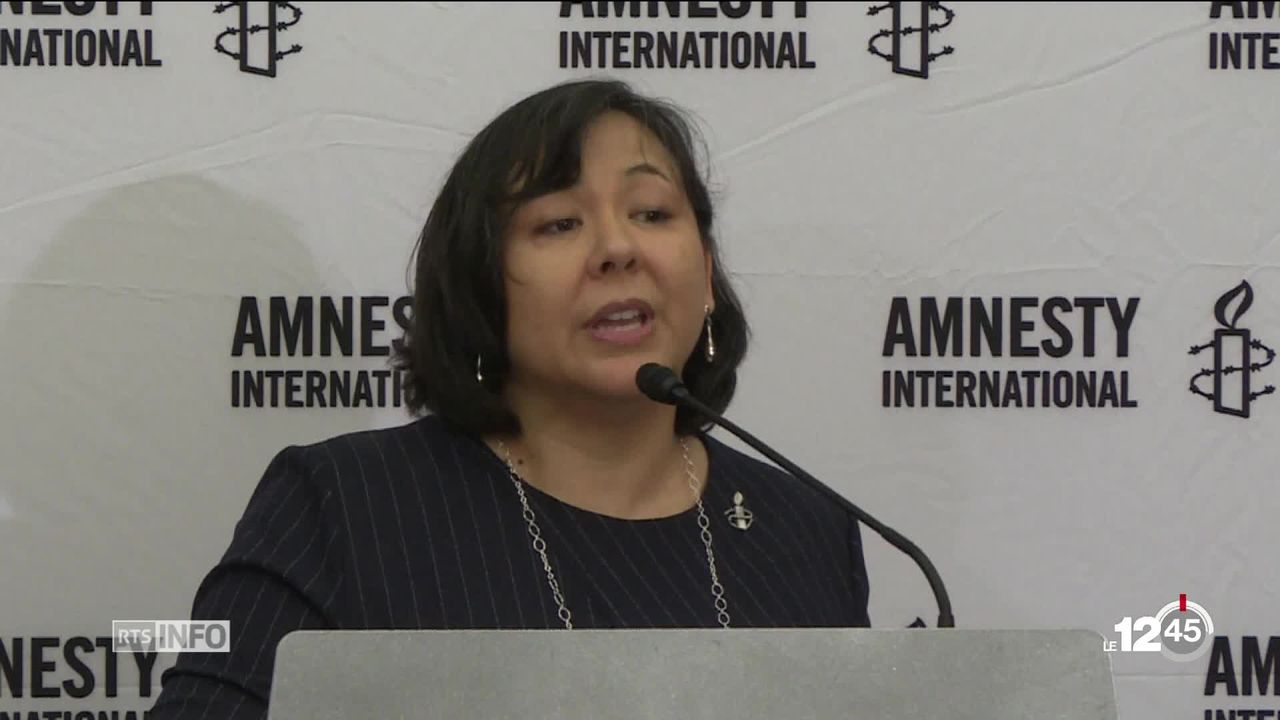 Amnesty International critique les politiques d'immigration de l'Occident [RTS]