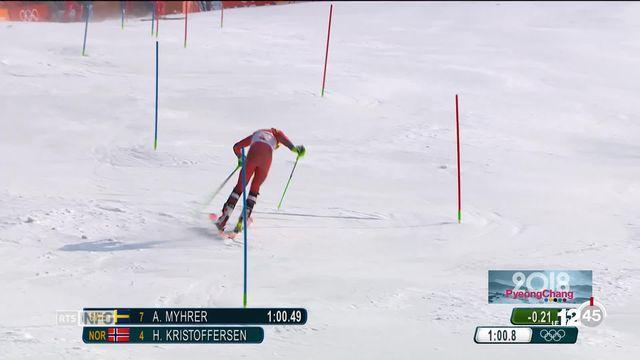 JO PyeongChang: Ramon Zenhäusern décroche la médaille d'argent en slalom [RTS]