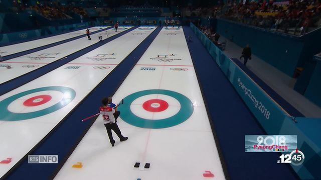 JO PyeongChang: Marc Gisclon commente l'actualité en curling [RTS]