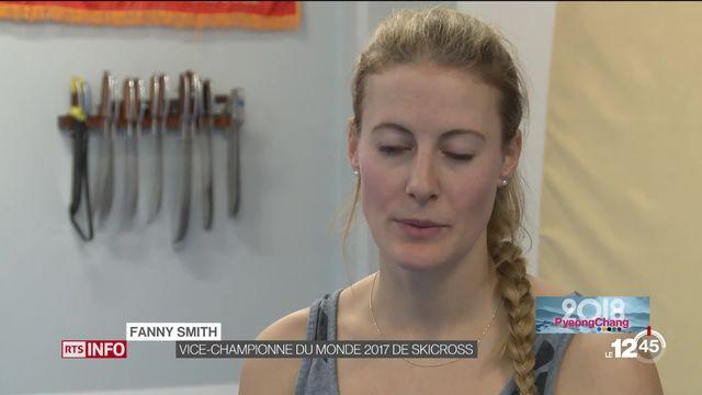 JO PyeongChang: Fanny Smith peut prétendre à une médaille en skicross [RTS]