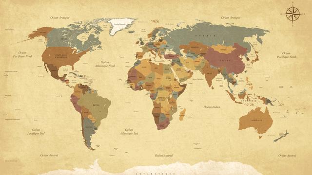 Carte du monde. [Neyriss - Fotolia]