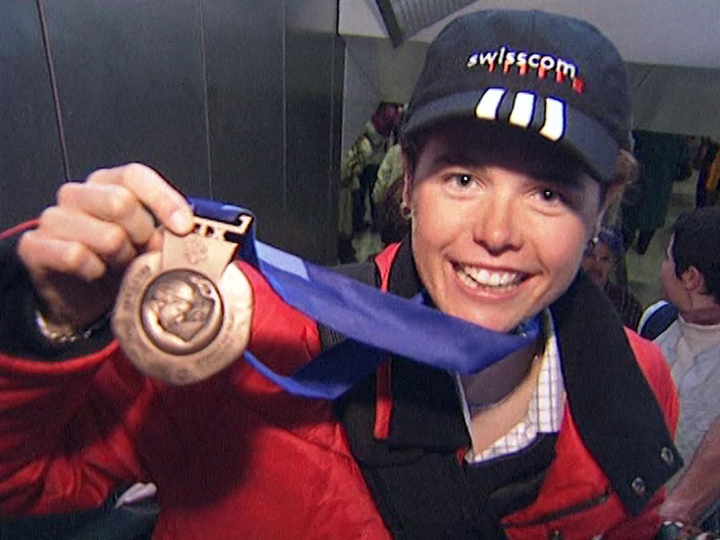 Laurence Rochat médaillée!