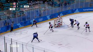 Hockey féminin: les Etats-Unis et le Canada se sont affrontés [RTS]