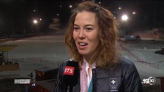 JO PyeongChang: interview de Michelle Gisin [RTS]