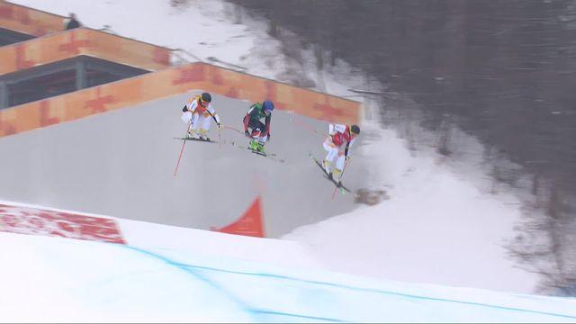 Skicross femmes, 1-2 finale: Fanny Smith (SUI) est en finale ! [RTS]