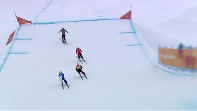 Skicross femmes, 1-2 finale: Sanna Luedi (SUI) n'ira pas en grande finale, mais jouera la petite [RTS]