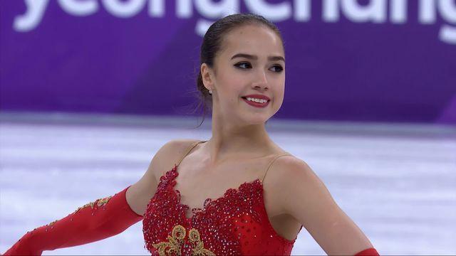 Programme libre dames: Alina Zagitova (OAR) remporte l'or olympique [RTS]