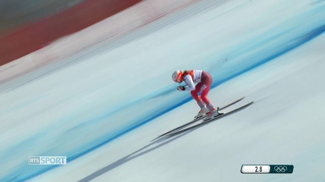 Ski alpin - Combiné: Michelle Gisin remporte une médaille d'or [RTS]