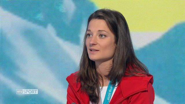 JO 2018: rencontre avec Sarah Hoefflin, Médaillée d'or ski slopestyle [RTS]