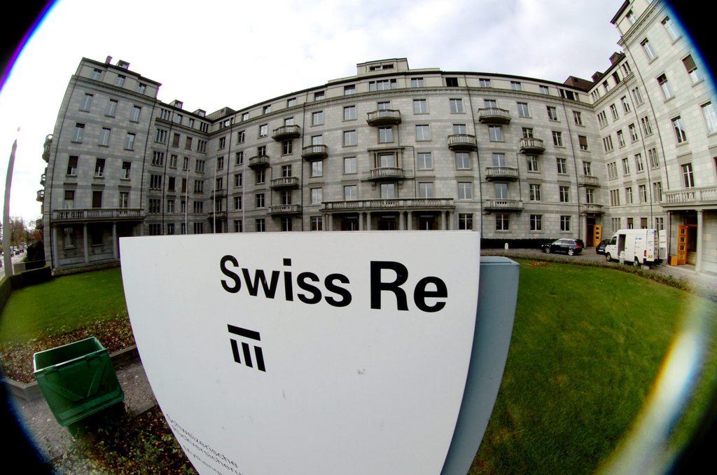 Le siège de Swiss Re à Zurich.