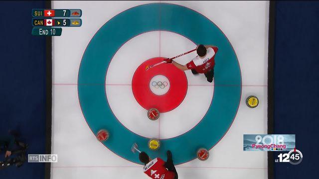 JO 2018 - curling: le CC Genève fait preuve de maitrise et remporte le Bronze [RTS]