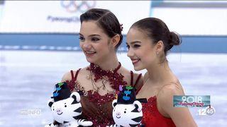 JO 2018 - patinage: la Russe Alina Zagitova remporte l'or à 15 ans [RTS]