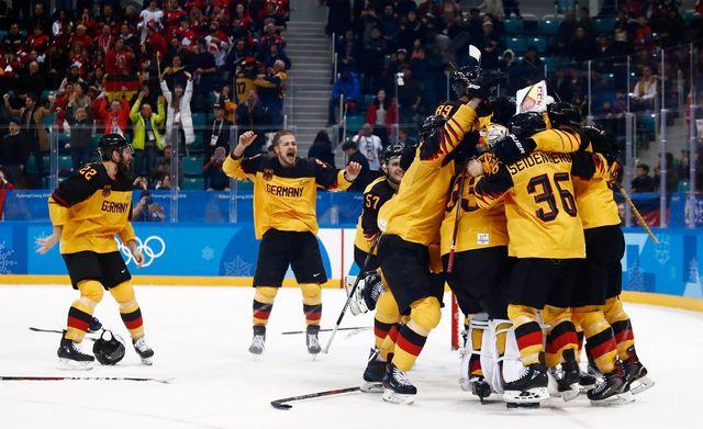 Il s'agira de la première finale olympique pour le hockey allemand. [Larry W.Smith - Keystone]