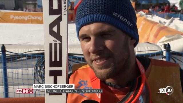 Pyeongchang 2018 : skicross, Marc Bischoftberger en argent [RTS]
