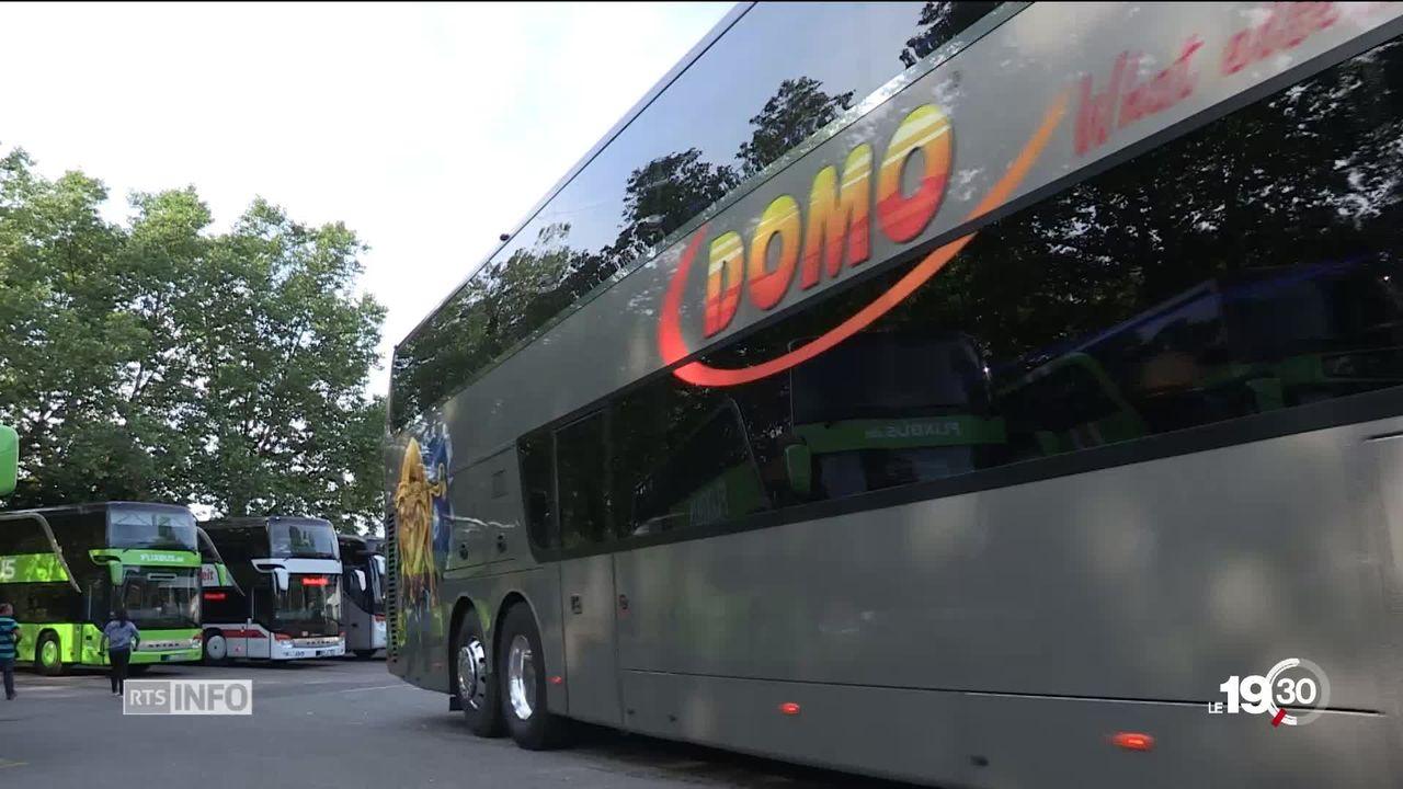 Domo Swiss Express: Nouvelles lignes de bus low cost [RTS]